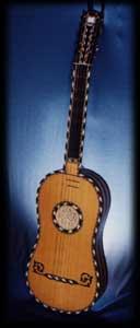 1687 Guitar after Voboam