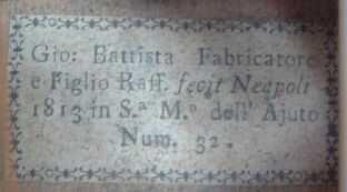 1813 Fabricatore Label