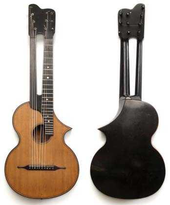 Dubez kitaraa - edestä ja takaa