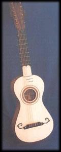 Guitar after Benito Sanchez de Aguilera, Madrid 1797