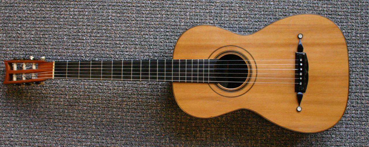 Weiß Bridge Nut for 6 String E-Guitar